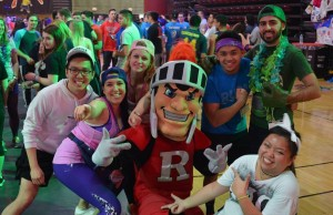 scarlet knight with dancers