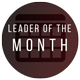 LEx Leader of the month badge