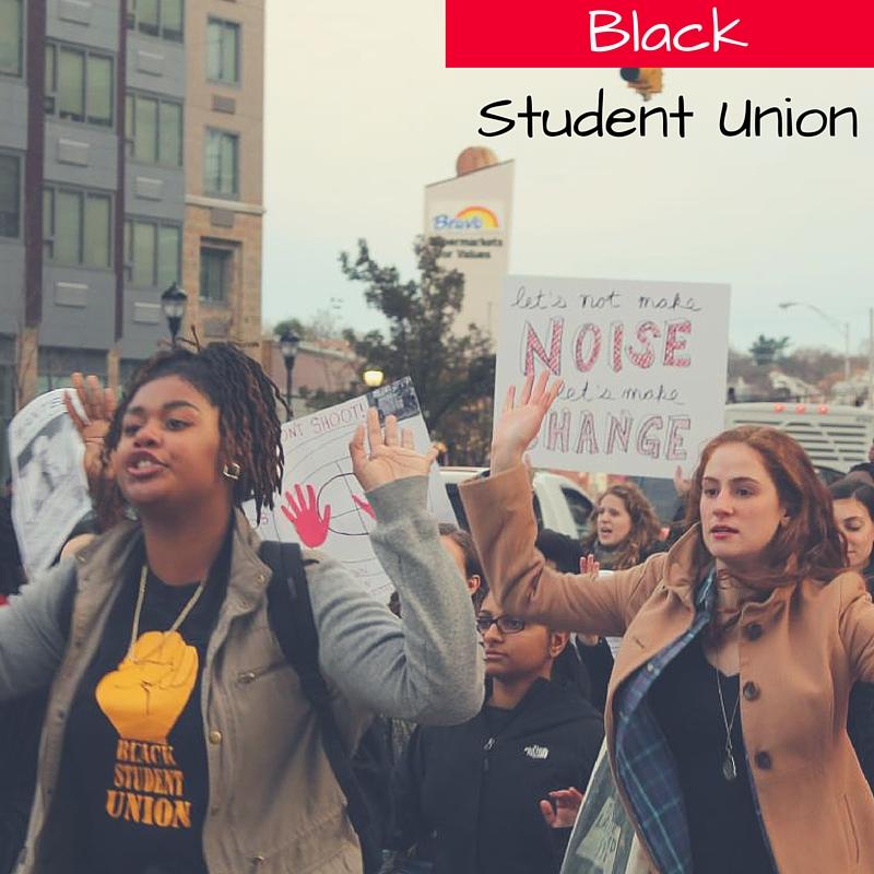 BLACK student Union (label
