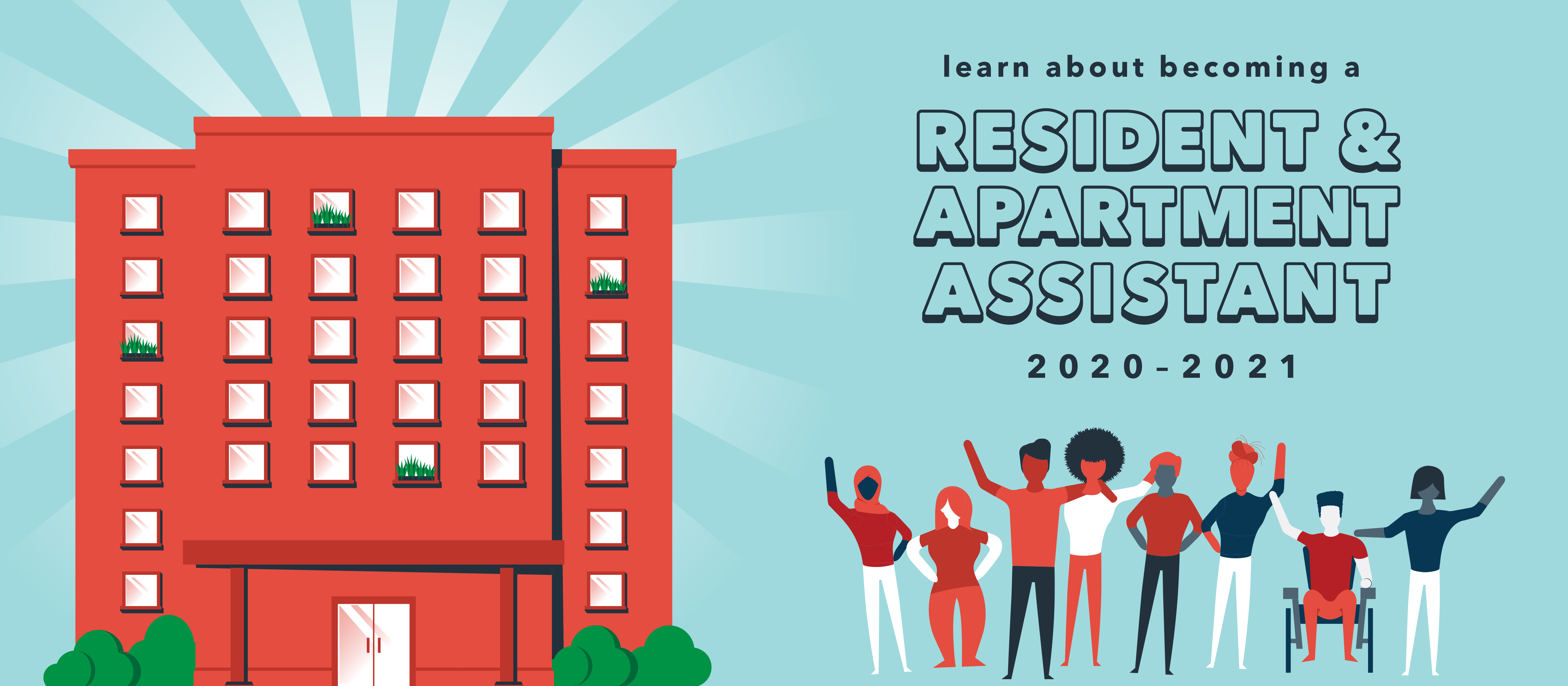 learn about becoming a resident and apartment assistant 2019-2020