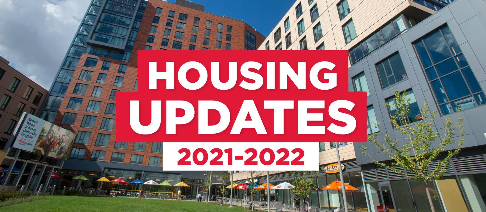 Rutgers Calendar 2022.2021 2022 Housing Update Residence Life