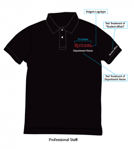 Professional Staff, Student Staff Polo Sample