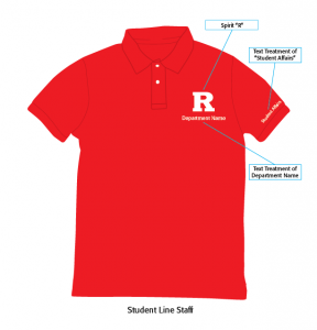 Student Line Staff Polo Sample