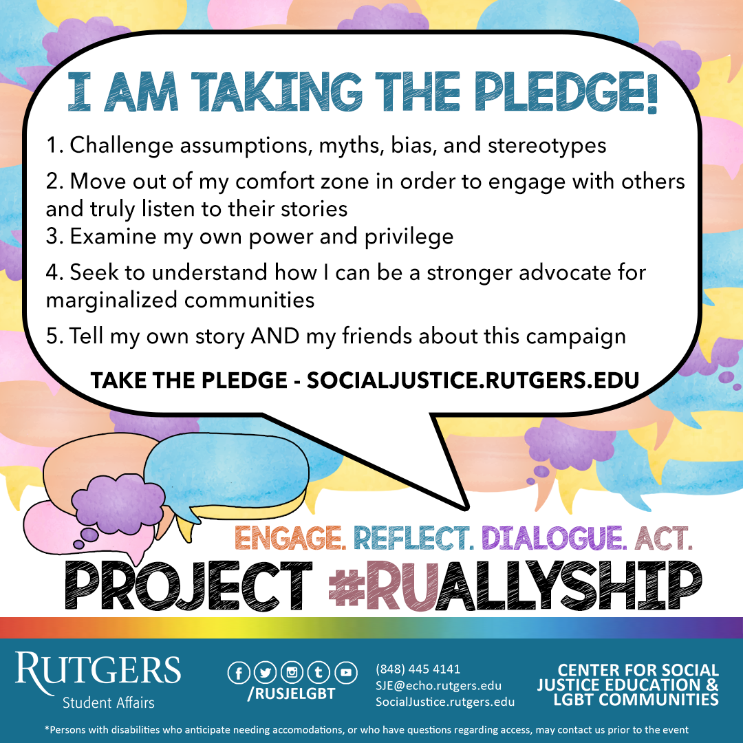 ALLYsingle pledge