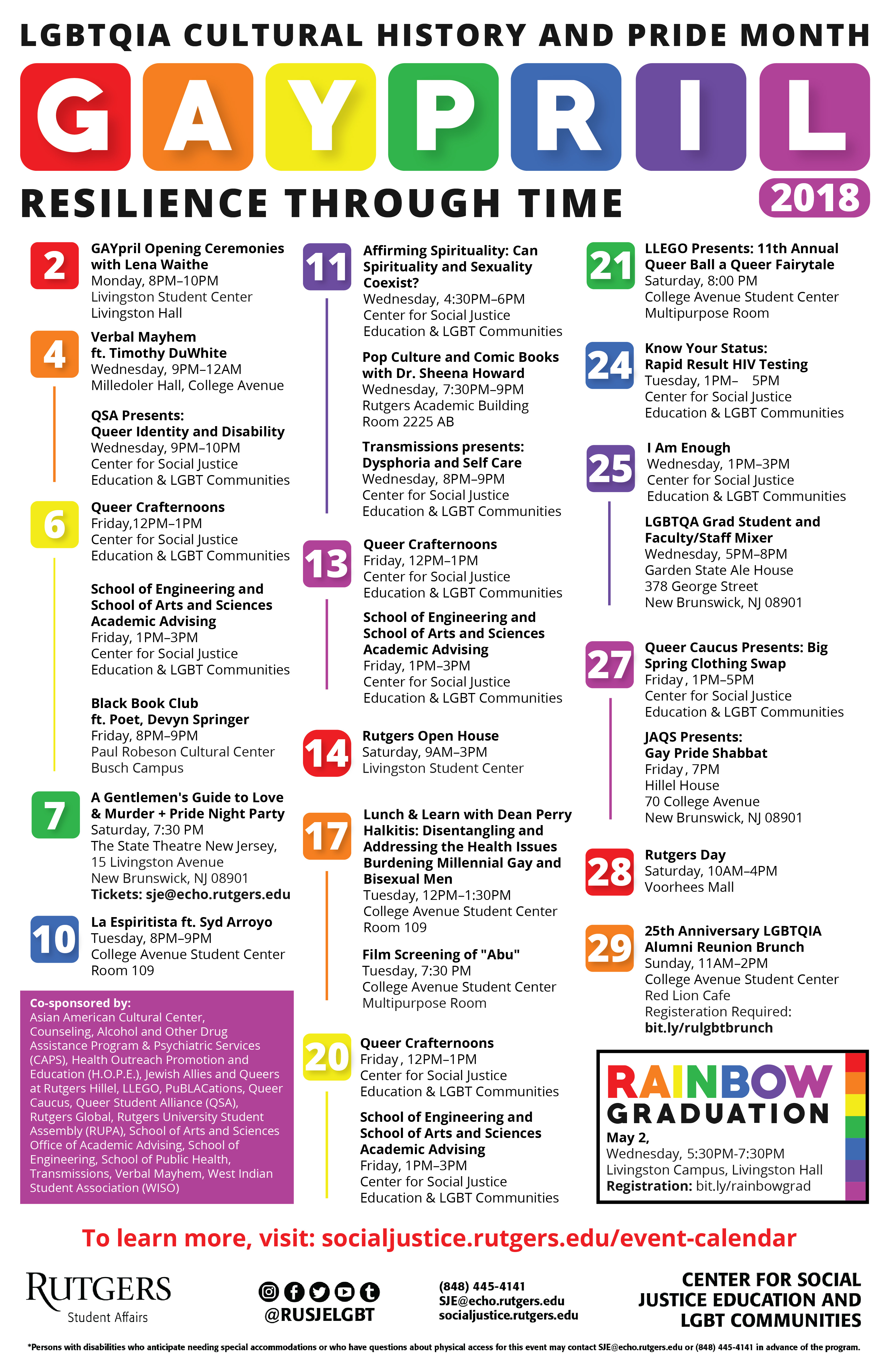 Calendar Festival : Event calendar the center for social justice education