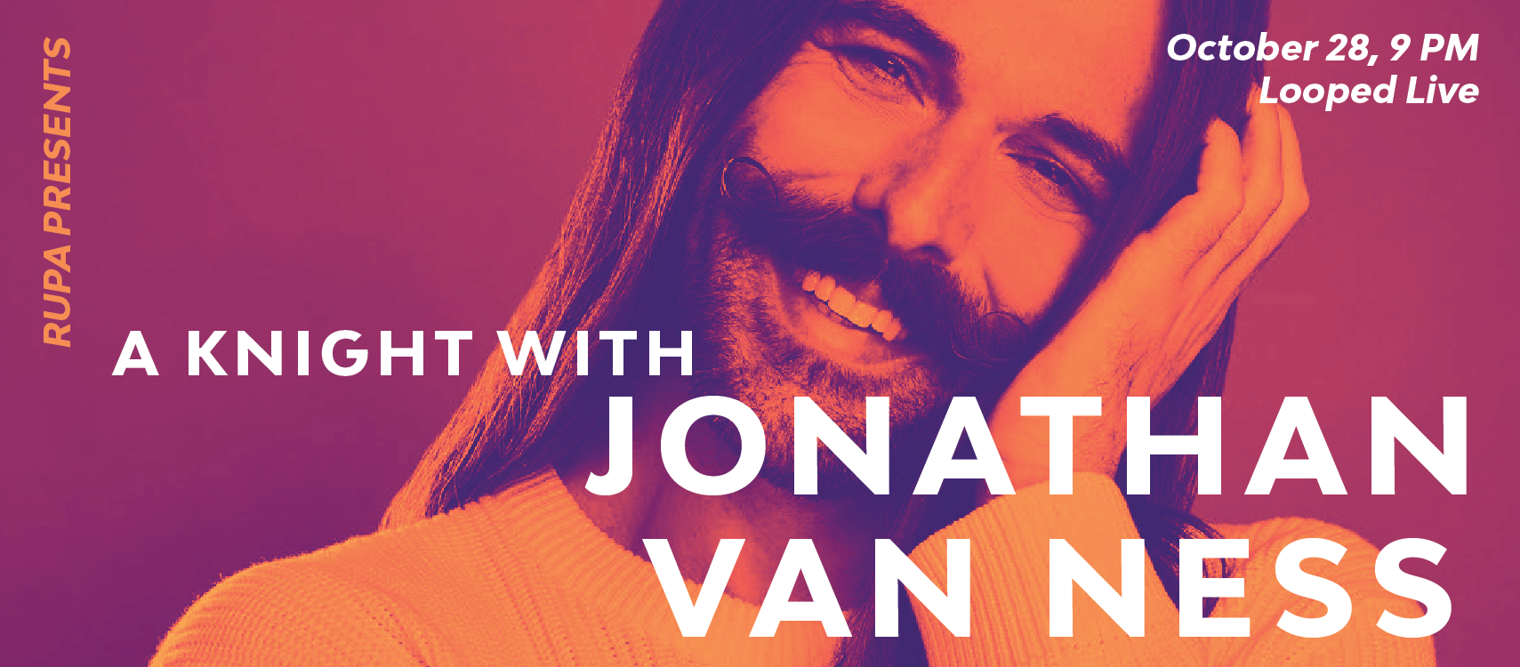 A Knight With Jonathan Van Ness Flyer