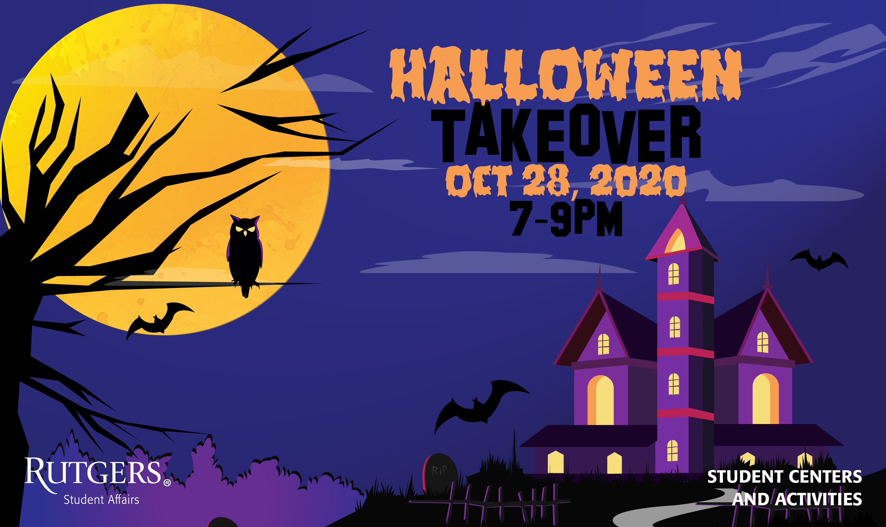 Halloween Takeover Flyer
