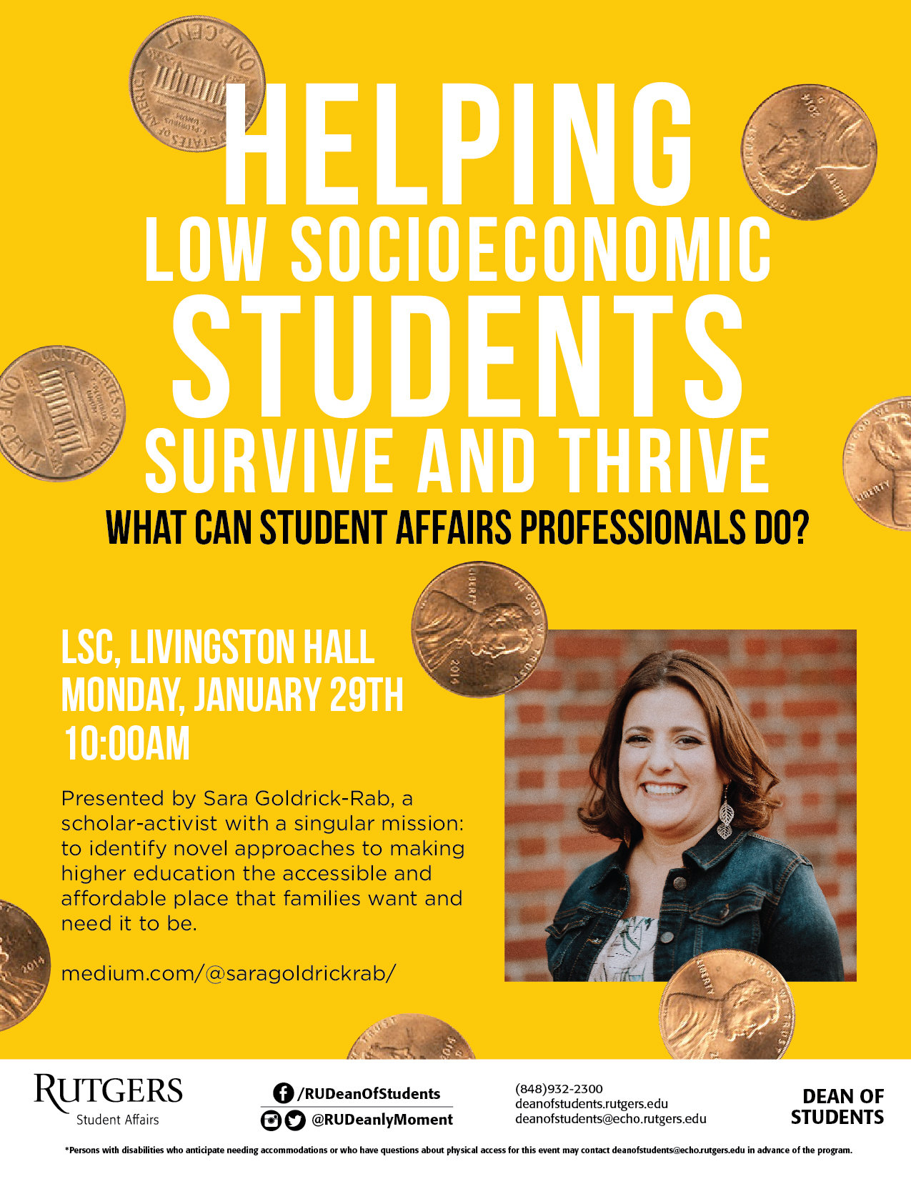 Helping Low Socioeconomic Students Survive and Thrive