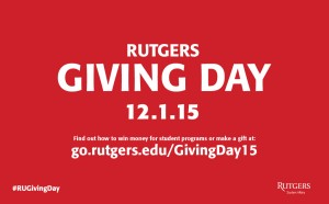 Rutgers Giving Day - Digital Screen Display 1