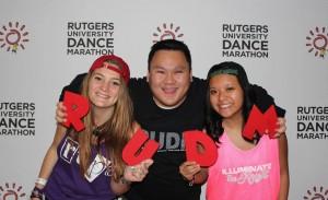 dancers holding RUDM
