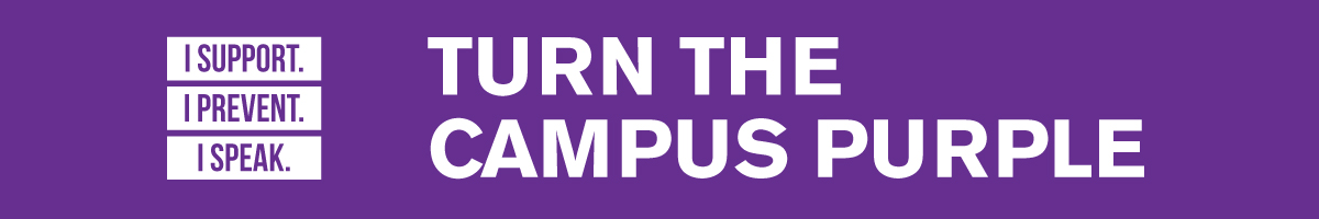 Turn the Campus Purple