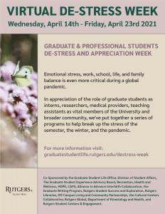 Graduate Student Destress Week