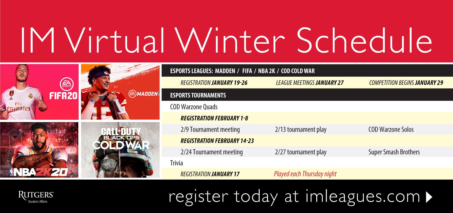 Rec_Intramurals_Winter_VirtualSchedule_S21