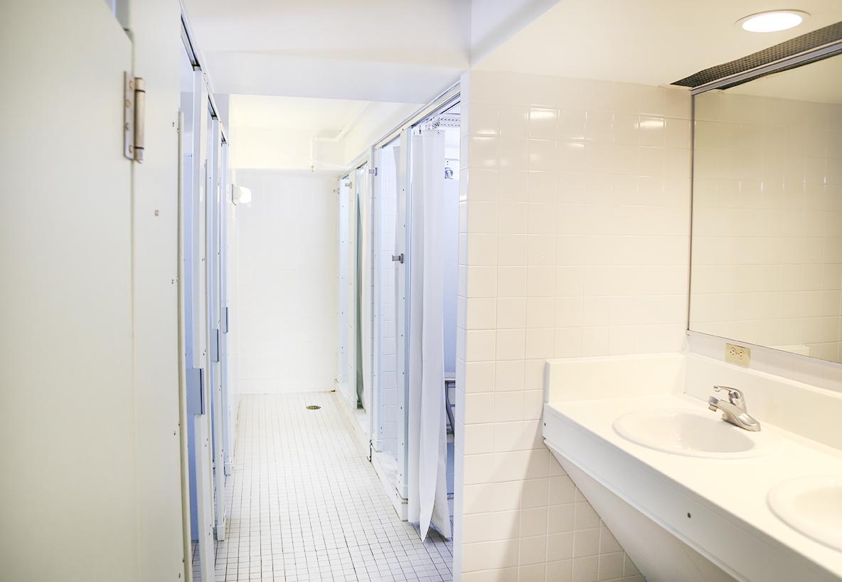 Mattia Bathroom. Mattia Hall   Residence Life