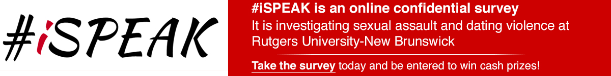 #iSPEAK survey banner